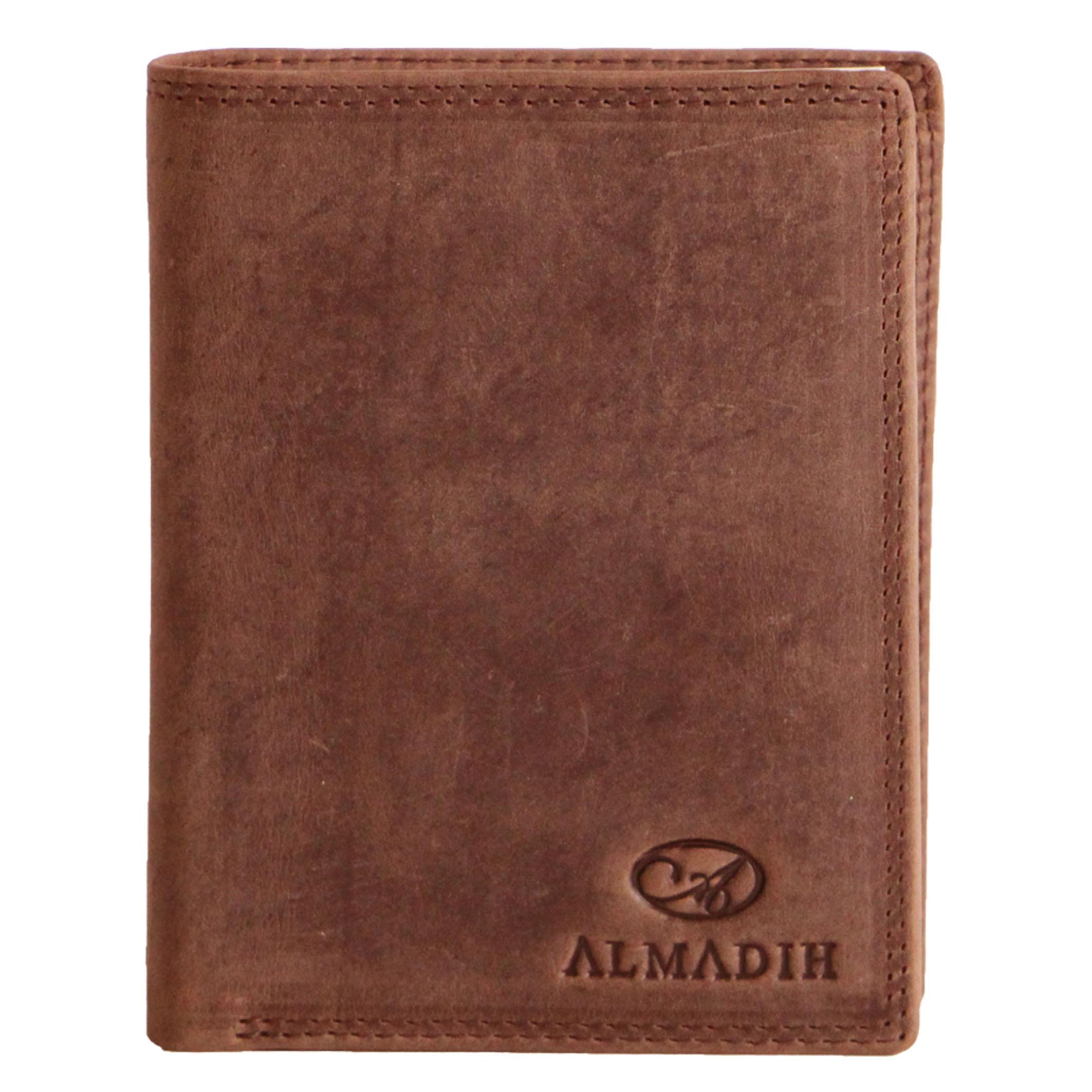 P2H ALMADIH Leder Portemonnaie Braun Vintage
